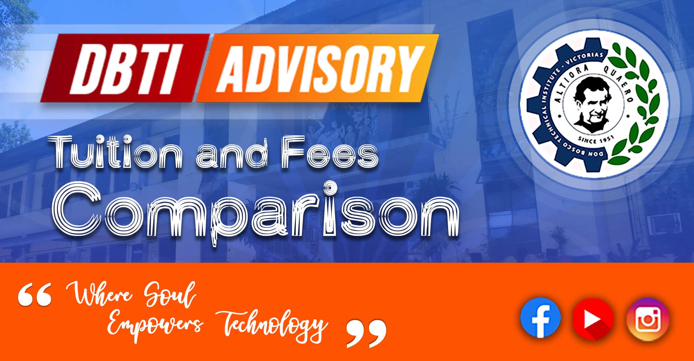 Tuition Fees Comparison