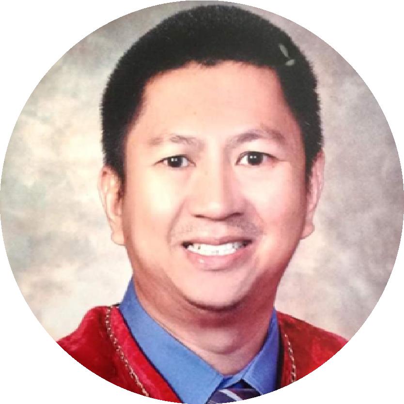 Edmundo Fernandez Jr.,RN,MD,DPBU,FPUA,FPCS – Scholar, Philippine College of Surgeons 2004-2006, Diplomate, Philippine Board of Urology,  Fellow, Philippine Urological Association, Fellow, Philippine College of Surgeons