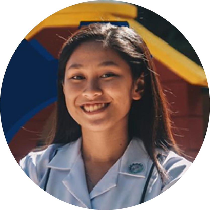 Angela Dominique O. Catedral – Batch 2020, De La Salle University ManilaBS Manufacturing Engineering and Management w/ Specialization in Biomedical Engineering